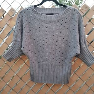 Takeout Heather Gray Sweater Pullover